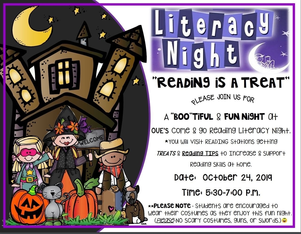 Literacy Night 2019